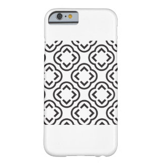 Black & White Pattern Barely There iPhone 6 Case