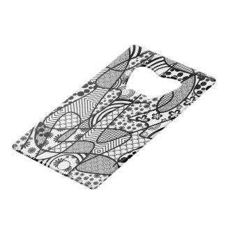 Black & White Pattern Patchwork 02