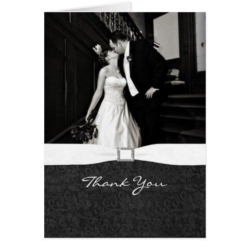 Black & White Photo Thank You Card