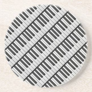 Black & White Piano Keys Coaster