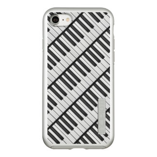 Black & White Piano Keys Incipio DualPro Shine iPhone 8/7 Case