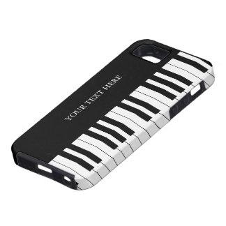 Black & White Piano Keys iPhone 5 Case