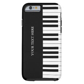 Black & White Piano Keys iPhone 6 case Tough iPhone 6 Case