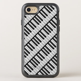 Black & White Piano Keys OtterBox Symmetry iPhone 8/7 Case