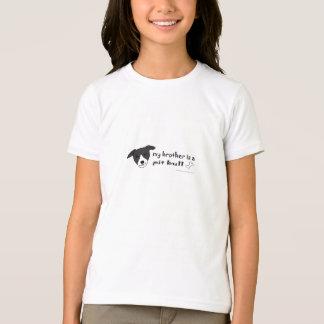 Black & White Pit Bull Brother T-Shirt