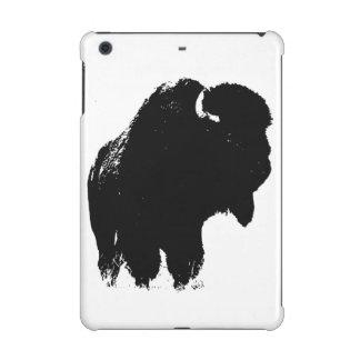 Black & White Pop Art Bison Buffalo