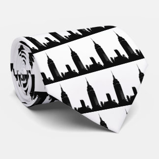 Black & White Pop Art New York Tie