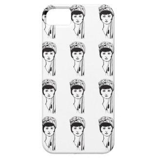 Black?White Portrait Phone case iPhone 5 Cover