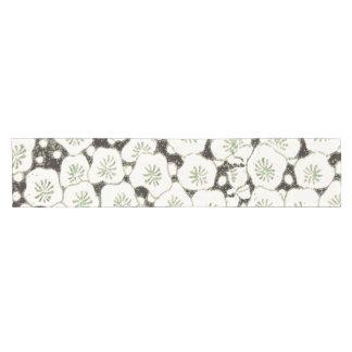 Black White Print Art Floral  Asian Japanese