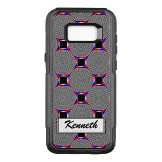 Black & White Radiation by Kenneth Yoncich OtterBox Commuter Samsung Galaxy S8+ Case