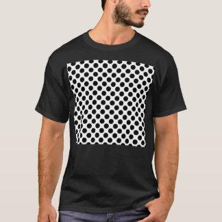 Black & White Retro Polka Dots T-Shirt