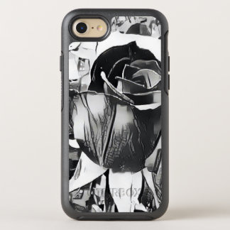 Black & White Rose iPhone 7/8 Otterbox Case