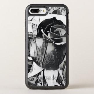 Black & White Rose iPhone 8/7 Plus Otterbox Case