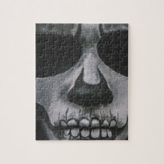 Black & White Scary Face... Jigsaw Puzzle
