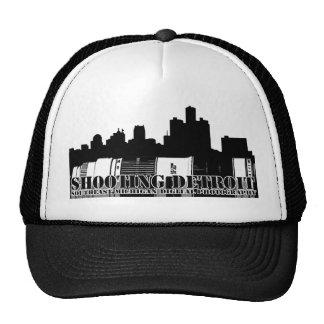 Black & White Shooting Detroit Trucker Hat