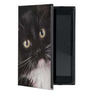 Black & white short-haired kitten,2 1/2 months iPad mini cover