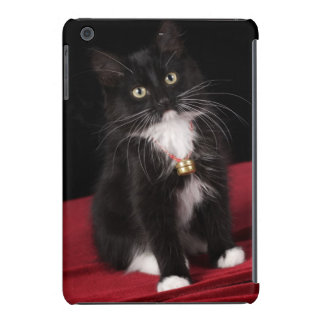 Black & white short-haired kitten,2 1/2 months iPad mini covers