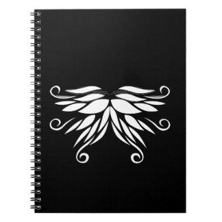 Black white Siberia Nordic ornaments Notebooks