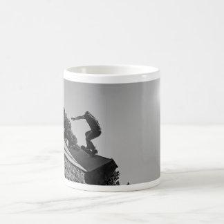 Black & White Skate Park Mug