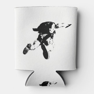 Black & White Skydiving Can Cooler