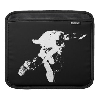 Black & White Skydiving iPad Sleeve
