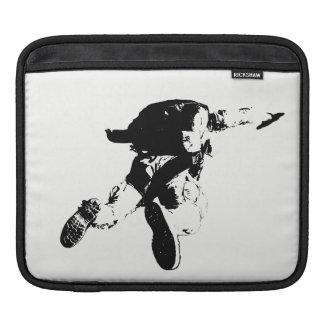 Black & White Skydiving iPad Sleeves