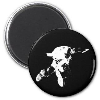 Black & White Skydiving Magnet