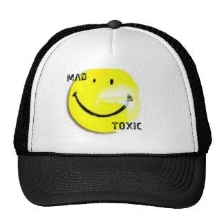 "Black & White ""Smiley"" Trucker Hat"