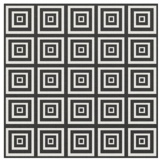 Black & White Squared Fabric