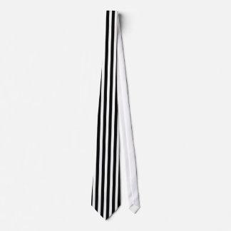Black White Stripes Pattern Straight Lines Zebra Tie