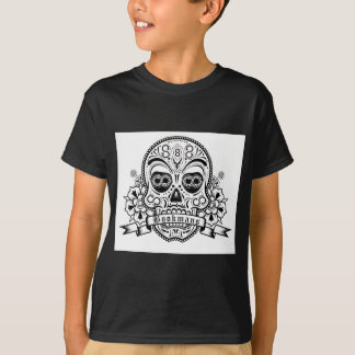 Black & White Sugar Skull T-Shirt