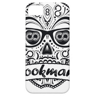 Black & White Sugar Skull W/ Glasses Barely There iPhone 5 Case