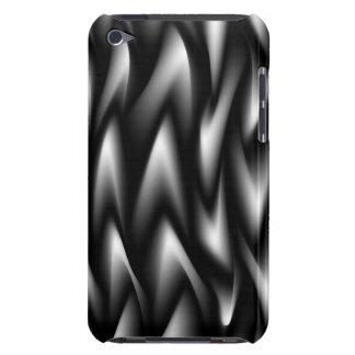 Black & White Swirl  iPod Case-Mate Case