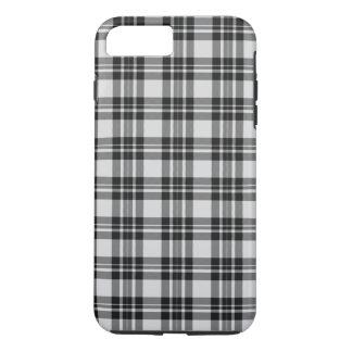 Black&white Tartan Phonecase iPhone 8 Plus/7 Plus Case