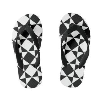 Black & White Thongs