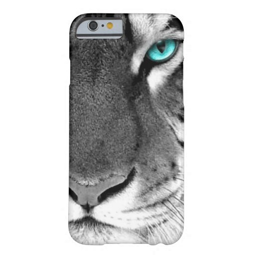 Black White Tiger iPhone 6 Case