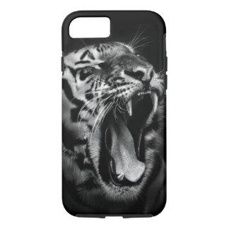 Black & White Tiger iPhone 7 Case