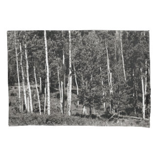 Black & White Treeline Pillow Case