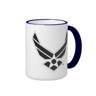 Black & White United States Air Force Logo Coffee Mug