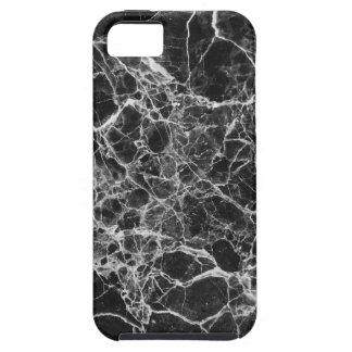 Black & White Veiny Marble Tough iPhone 5 Case