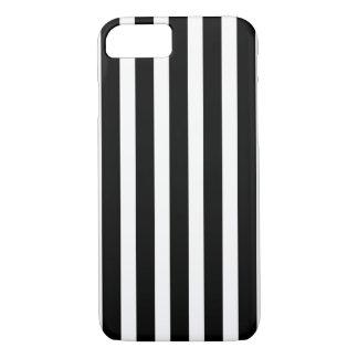 Black White Vertical Stripes iPhone 8/7 Case