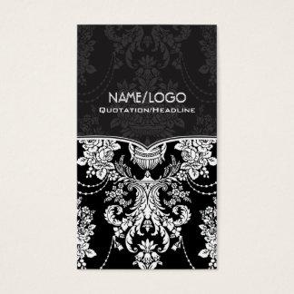 Black & White Vintage Baroque Style Design