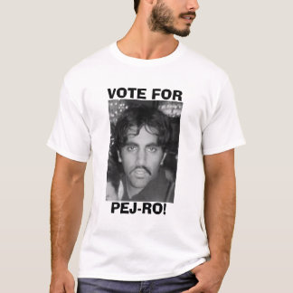Black & White Vote for Pej-ro T-Shirt