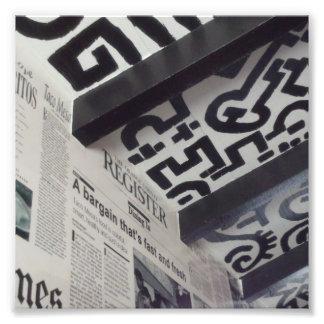 Black & White Wall Art Photo Print