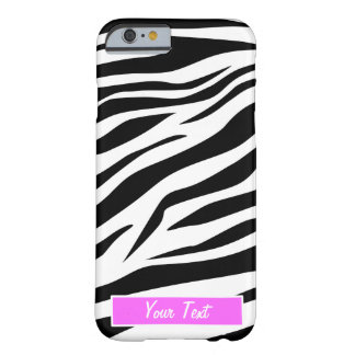 Black/White Zebra - Barely There iPhone 6 Case
