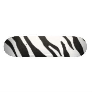 Black & White Zebra Skateboard