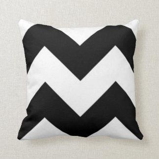 Black & White Zig Zag Pillow
