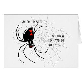 Black Widow Card