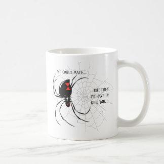 Black Widow Coffee Mug