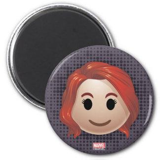 Black Widow Emoji Magnet